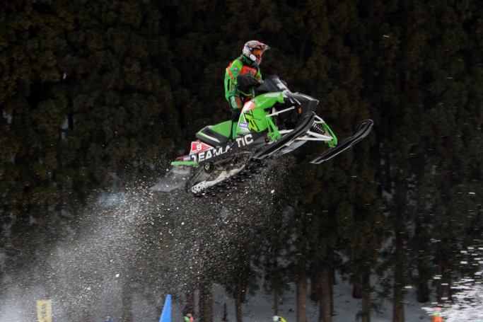 2015 全日本スノーモビル選手権シリーズ 最終戦 in 北海道真狩 開催
