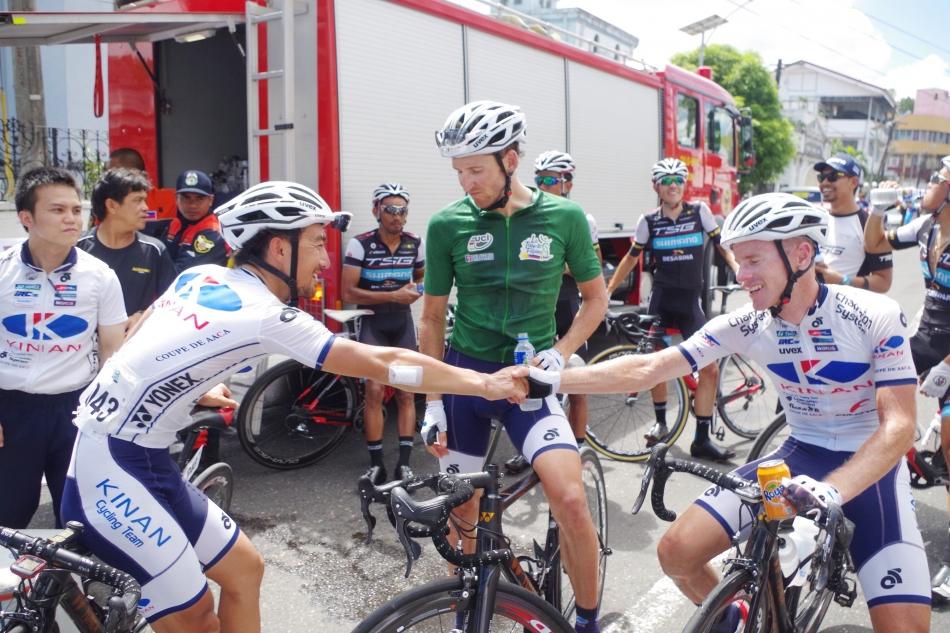 ツール・ド・フィリピン  ウェズリー・サルツバーガーがポイント賞獲得