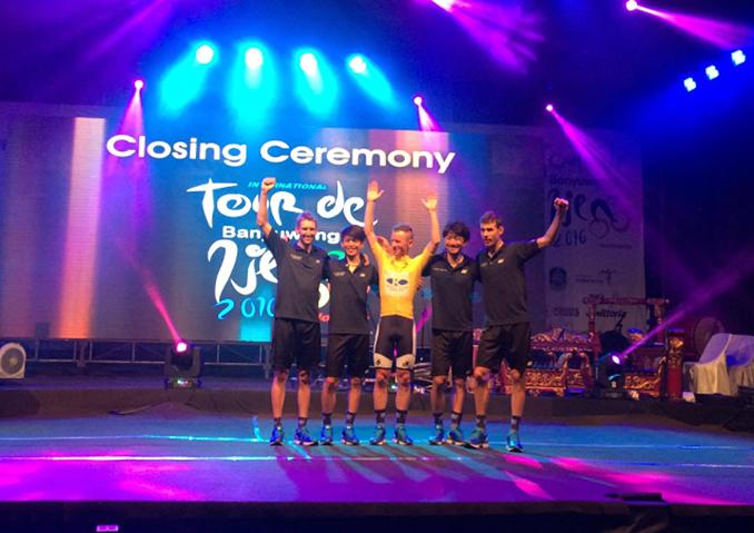 KINAN Cycling Teamがチーム・個人総合優勝