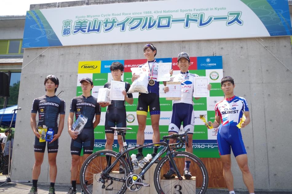 京都美山サイクルロードレース 下島将輝(那須ブラーゼン)が優勝