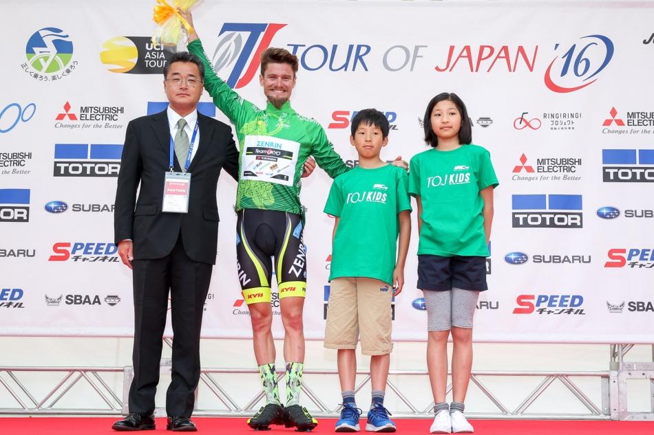ツアー・オブ・ジャパン2016 オスカル・プジョル(Team UKYO)が総合優勝