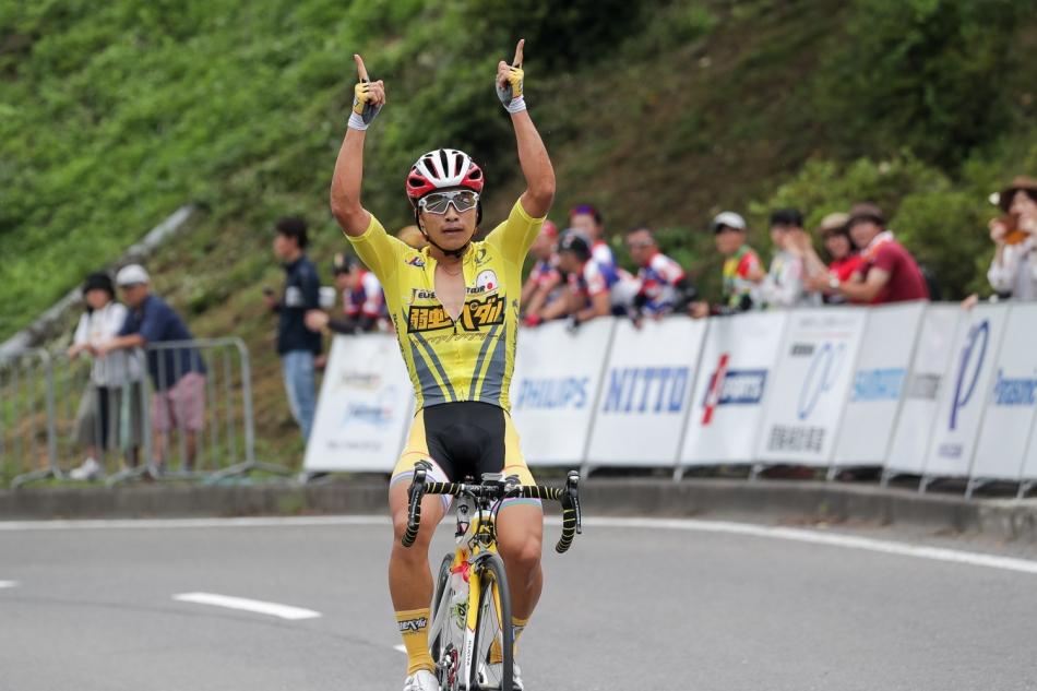第15回JBCF石川サイクルロードレース 岡篤志(弱虫ペダルサイクリングチーム)が優勝