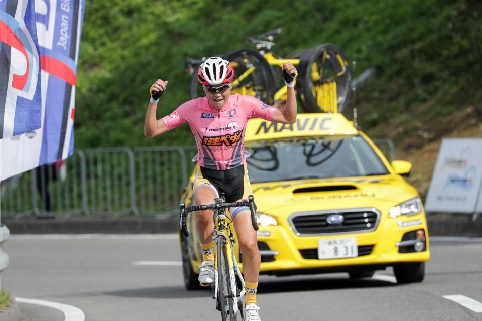 第15回JBCF石川サイクルロードレース 唐見実世子(弱虫ペダルサイクリングチーム)が優勝
