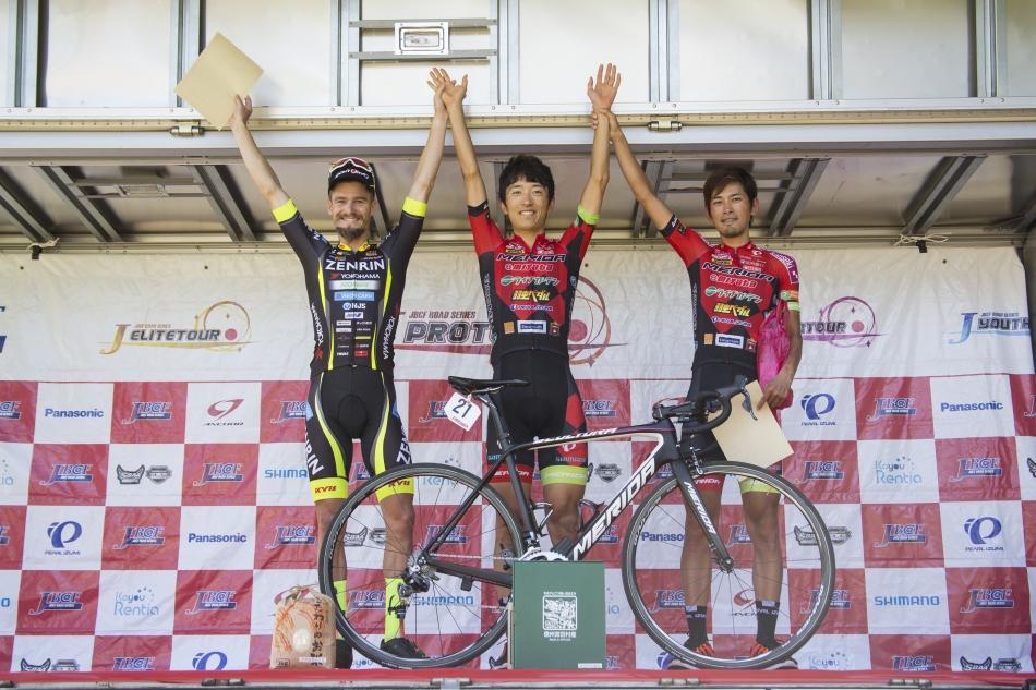 第2回JBCFみやだ高原ヒルクライム 増田成幸(宇都宮ブリッツェン)が優勝