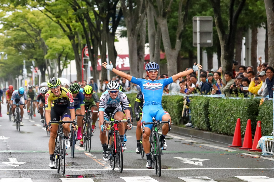 せんだいサイクルフェスティバル 福田真平(愛三工業レーシングチーム)が優勝