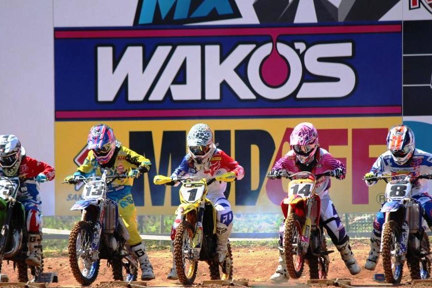 2016 全日本モトクロス選手権シリーズ 第9戦 in SUGO 開催