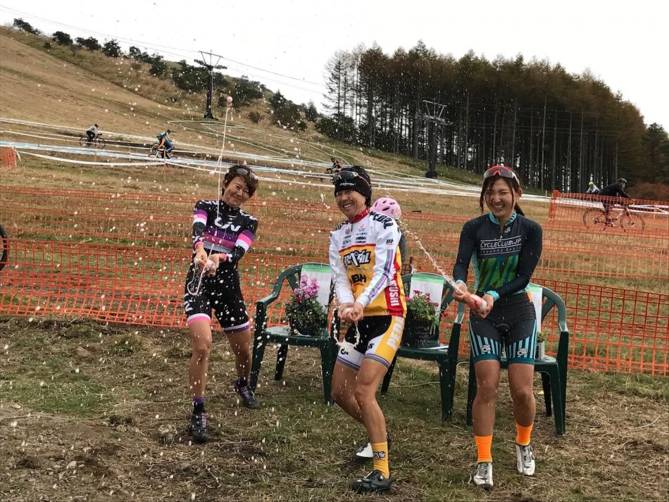 JCX第2戦 白樺湖 唐見実世子(弱虫ペダルサイクリングチーム)が優勝