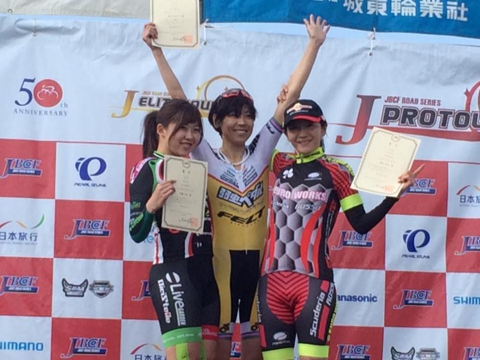 JBCF舞洲タイムトライアル&クリテリウム 唐見実世子(弱虫ペダルサイクリングチーム)が2連勝