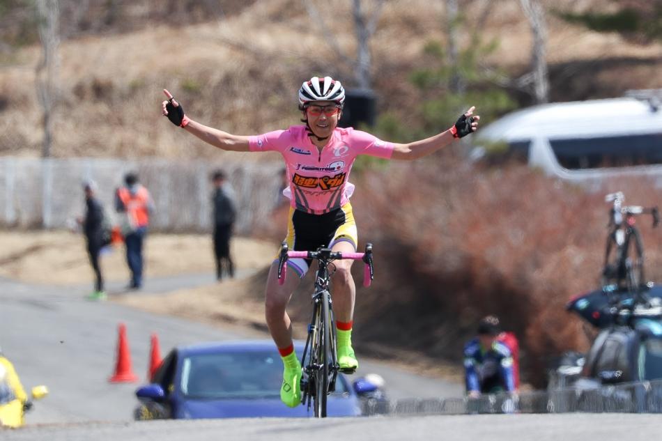 JBCF東日本ロードクラシック群馬大会Day-1 唐見実世子(弱虫ペダルサイクリングチーム)が優勝