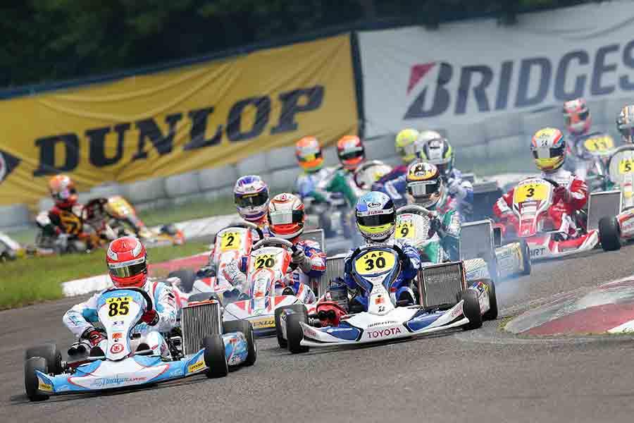 全日本カート選手権OK部門 第5戦・第6レースレポート