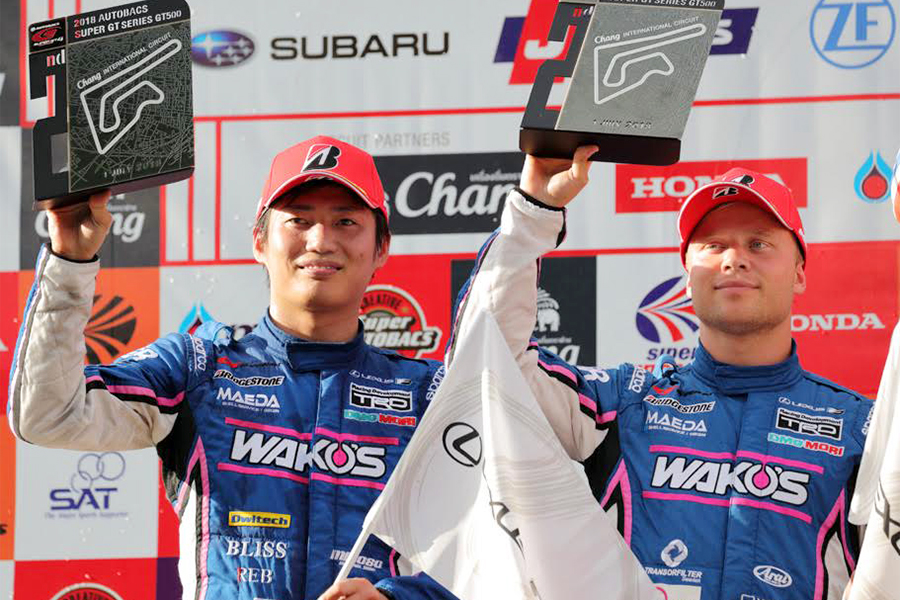 2018 SUPER GT 第4戦 LEXUS TEAM LEMANS WAKO`S レースレポート