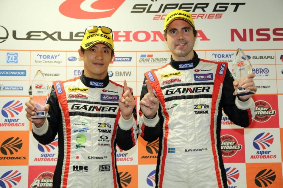2014 SUPER GT No.11 GAINER DIXCEL SLS GT300 Team CHAMPION 獲得!!