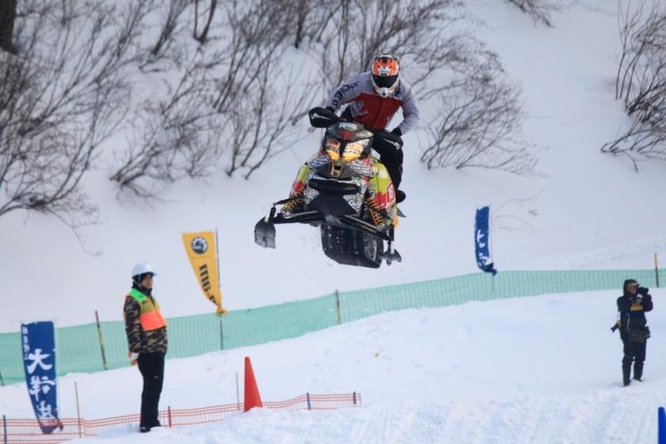 2015 全日本スノーモビル選手権シリーズ 最終戦 in 北海道美瑛 開催