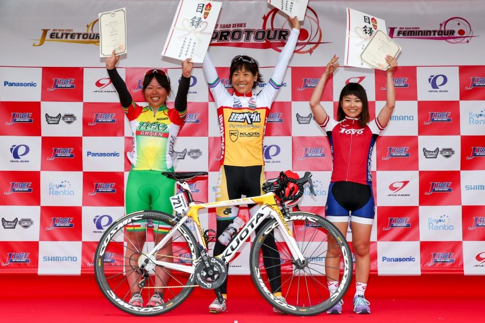 第7回JBCF伊吹山ドライブウェイヒルクライム 唐見実世子(弱虫ペダルサイクリングチーム)が優勝