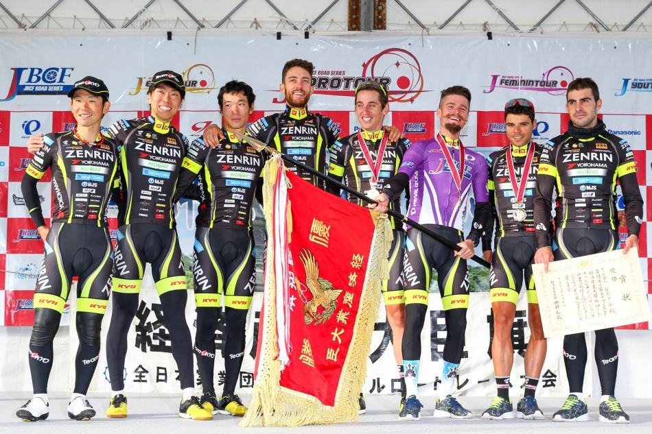 第50回JBCF経済産業大臣旗ロードチャンピオンシップ Team UKYOが2連覇