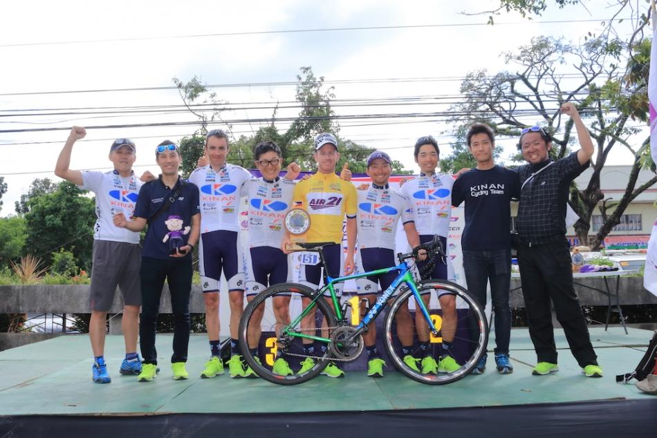 ツール・ド・フィリピン ジャイ・クロフォード(KINAN Cycling Team)が個人総合優勝