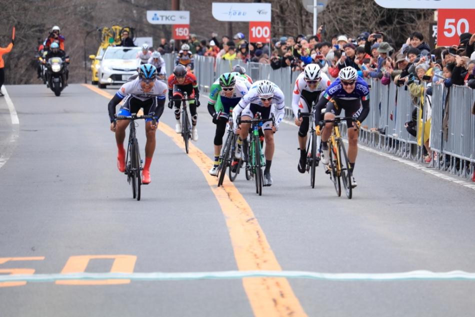 第1回ツール・ド・とちぎ ジャイ・クロフォード(KINAN Cycling Team)が総合2位