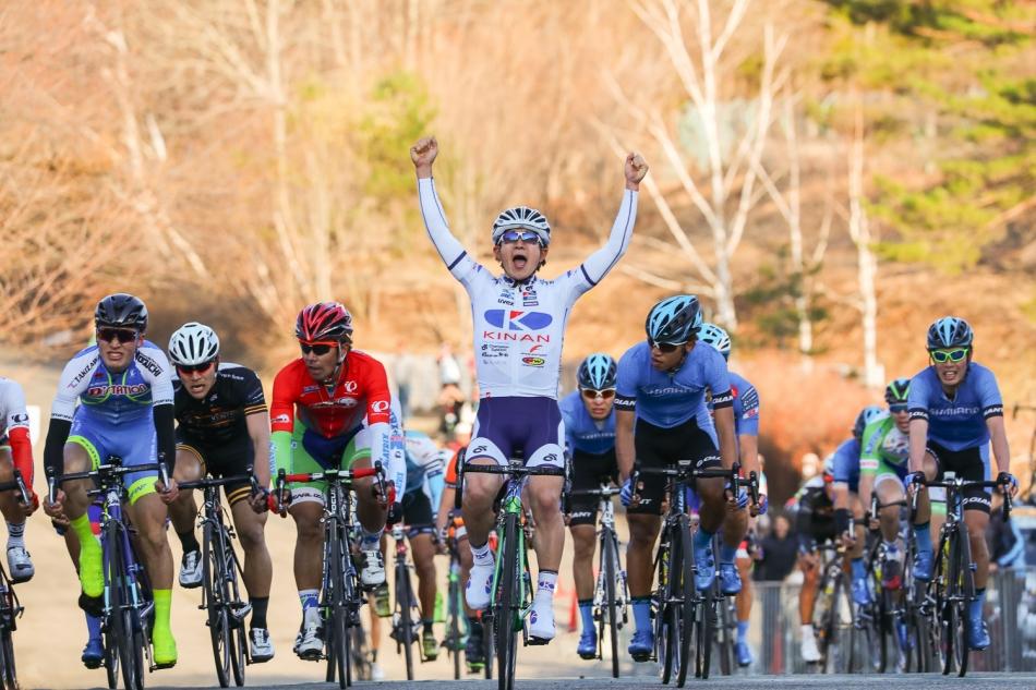 JBCF東日本ロードクラシック群馬大会Day-1 中島康晴(KINAN Cycling Team)が優勝