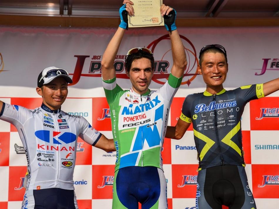 第51回JBCF西日本ロードクラシックDay1 山本元喜(KINAN Cycling Team)が第2位