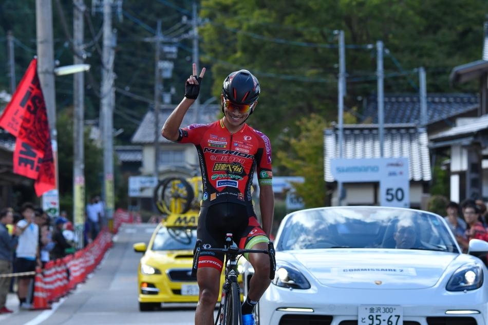 第10回JBCF輪島ロードレース 雨澤毅明(宇都宮ブリッツェン)が優勝